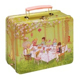 "Valise Pique-Nique Lunchbox ""Ava's Tea Party"""